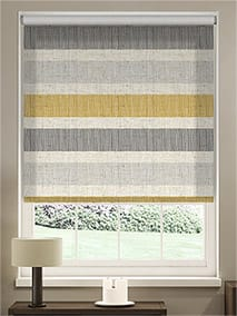 Choices Cardigan Stripe Linen Flax Grey Roller Blind thumbnail image