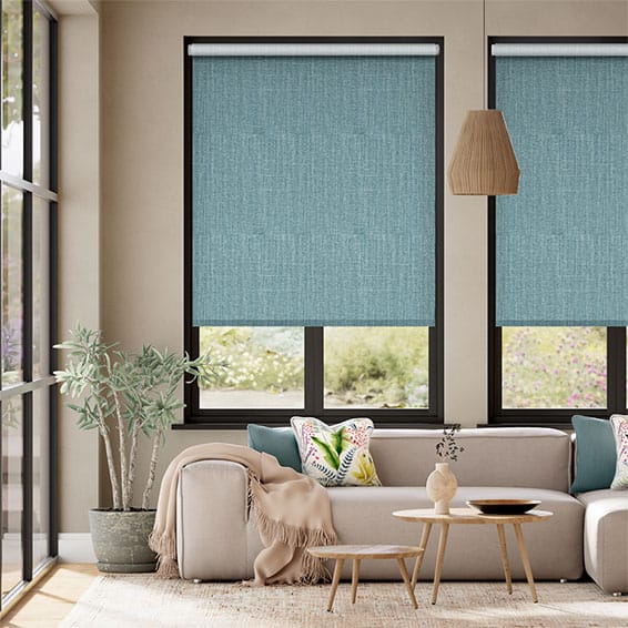 Choices Cavendish Lagoon Blue Roller Blind