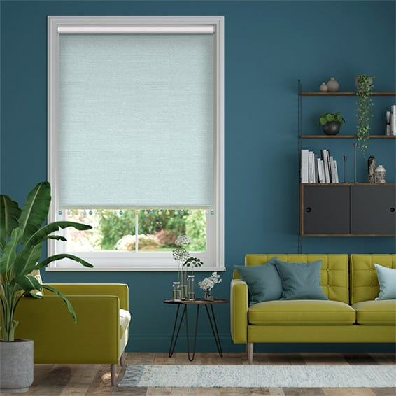 Choices Cavendish Spearmint & Spring Roller Blind