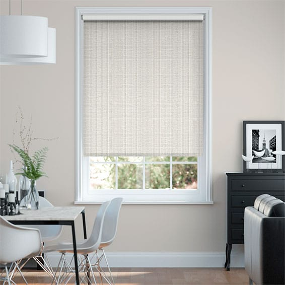 Choices Chenille Chic Pearl Roller Blind