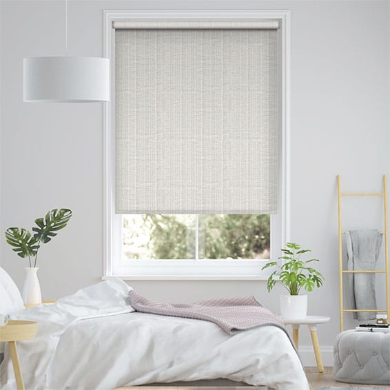 Choices Chenille Chic Platinum Roller Blind
