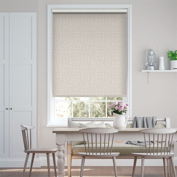 Choices Chenille Moonstone Roller Blind