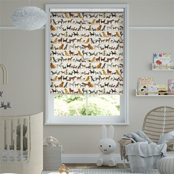Choices Dogs Multi Roller Blind