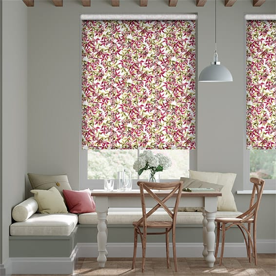 Choices Elderberry Pink Roller Blind