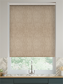 Thermal Luxe Biscuit Roller Blind thumbnail image