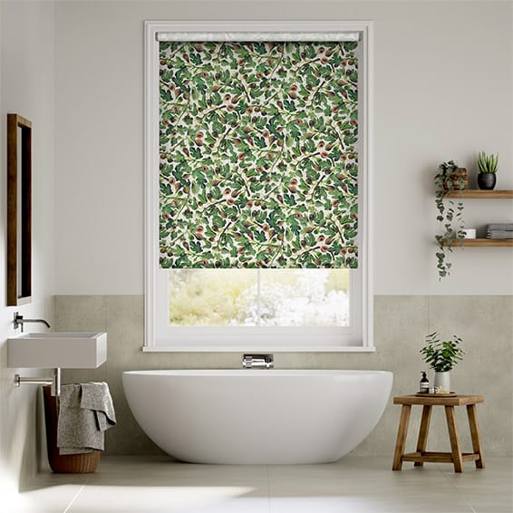 Choices Figs Green Roller Blind