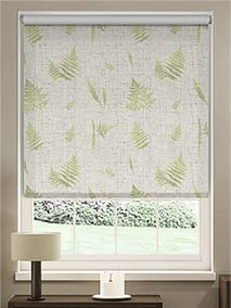 Choices Forest Fern Linen Foliage Roller Blind thumbnail image