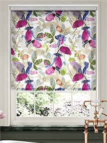 Choices Hadley Linen Blooming Violet Roller Blind thumbnail image