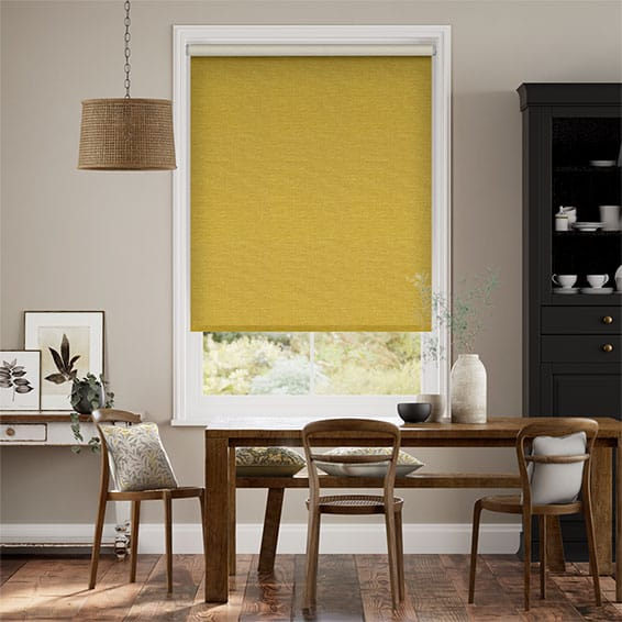 Choices Harrow Mimosa Gold Roller Blind