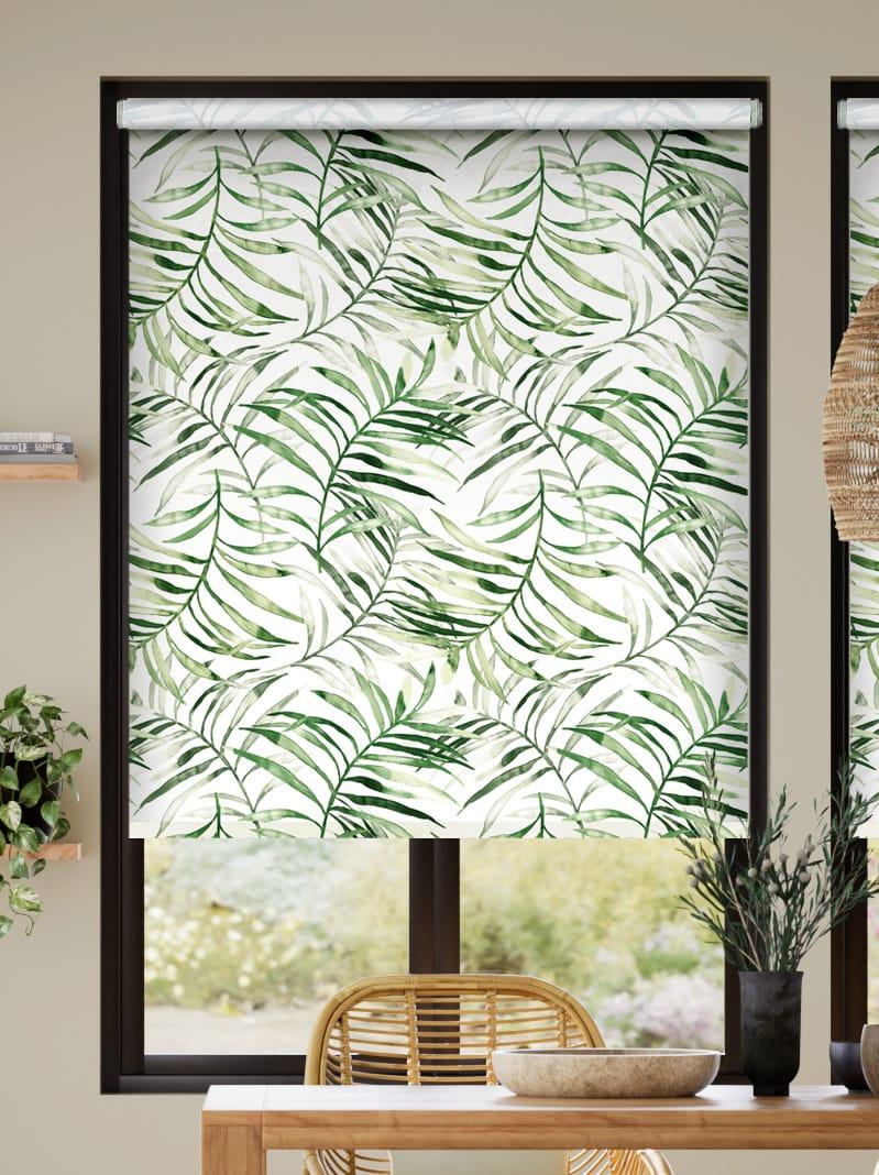 Choices Kentia Linen Leaf Roller Blind thumbnail image