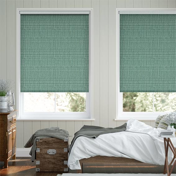 Choices Leyton Pool Green Roller Blind