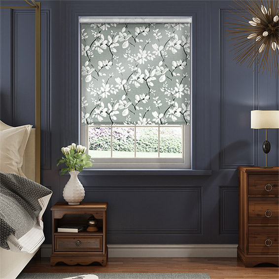Choices Madelyn Velvet Noir Grey Roller Blind