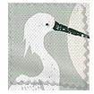 Choices Moonlit Cranes Linen Smoke swatch image