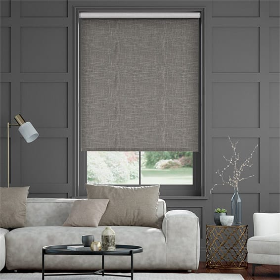 Choices Palazzo Chenille Grey Roller Blind