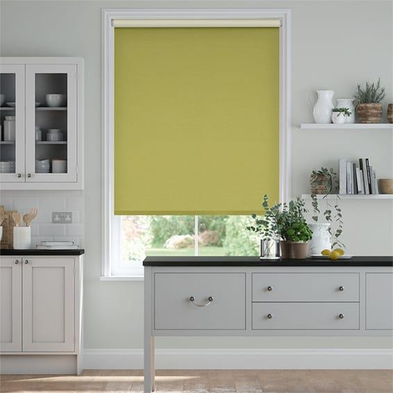 Choices Paleo Linen Golden Apple  Roller Blind
