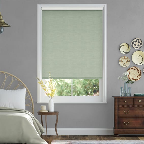 Choices Paleo Linen Pastel Green  Roller Blind