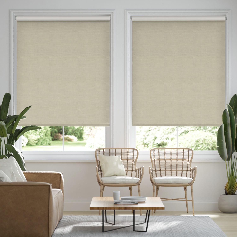 Choices Paleo Linen Sandstone  Roller Blind