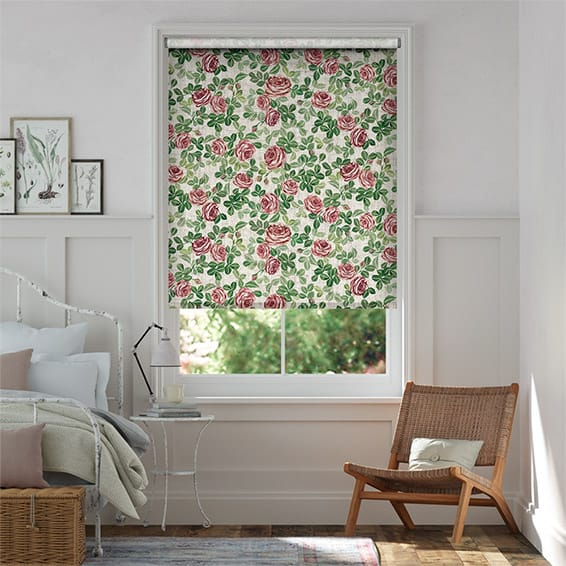 Choices Roses Pink Roller Blind