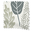 Choices Scandi Ferns Linen Thunder Roller Blind sample image