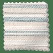 Choices Scandinavia Stripe Aqua Roller Blind sample image