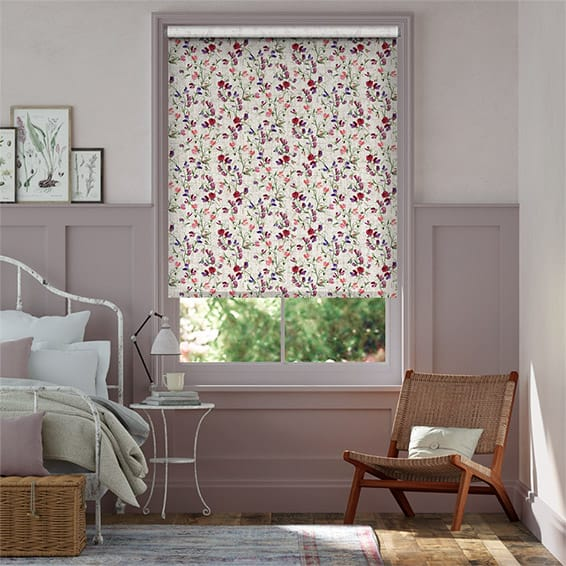 Choices Sweet Pea Lilac Roller Blind