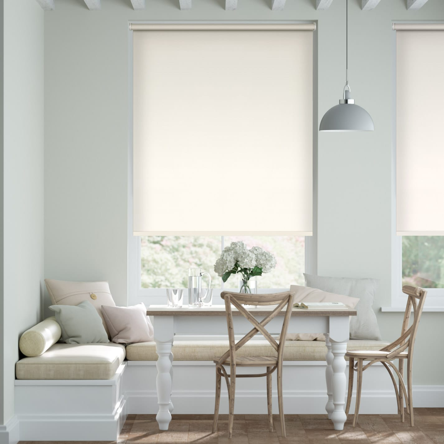 City Chalk Roller Blind