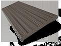 City Grey Faux Wood Blind - 50mm Slat slat image