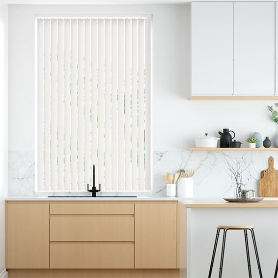 City Winters Day Vertical Blind