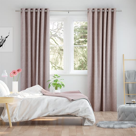 Clarence Antique Blush Curtains