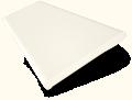 Vintage White Wooden Blind - 50mm Slat slat image