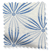 Clematis Ombre Blue Roman Blind swatch image
