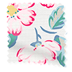 Climbing Blossom Blush Roller Blind swatch image