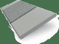 Cloud Grey & Charcoal - 50mm Slat slat image