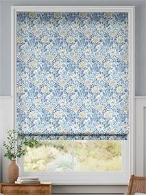 William Morris Compton China Blue Roman Blind thumbnail image