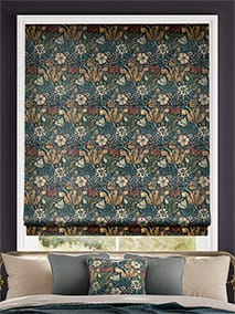 William Morris Compton Velvet Dusky Teal thumbnail image