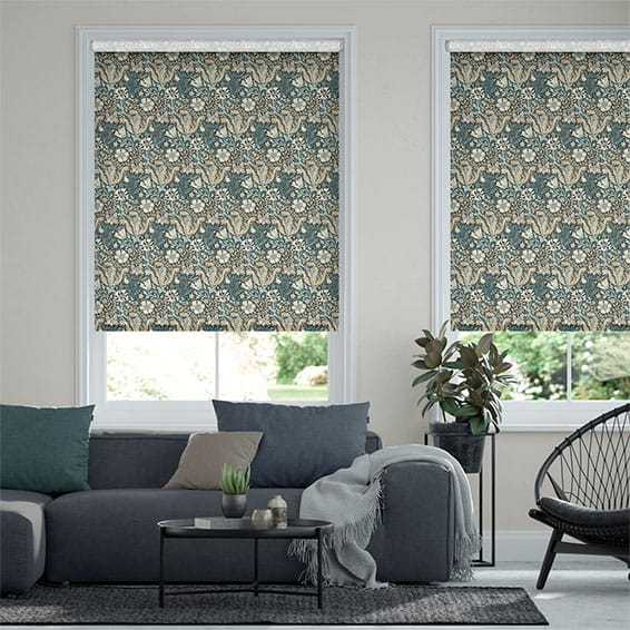 William Morris Compton Midnight Roller Blind