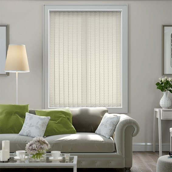 Concha Cream Vertical Blind