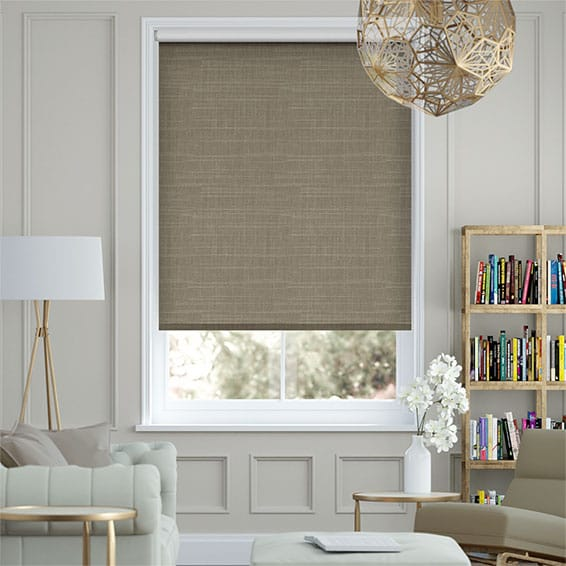 Concordia Blackout Cocoa Roller Blind