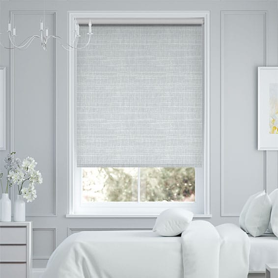 Concordia Blackout Silver Marlin Roller Blind
