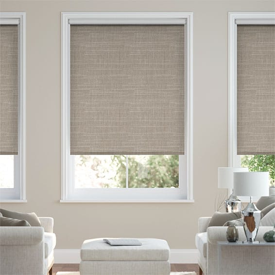 Concordia Blackout Taupe Roller Blind
