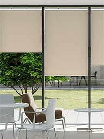 Contract Capital Blackout Buttermilk Roller Blind thumbnail image