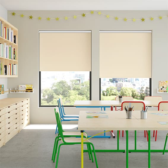 Contract Capital Blackout Magnolia Roller Blind