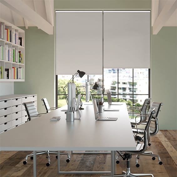 Contract Capital Blackout Pearl Grey Roller Blind