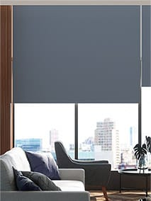 Contract Capital Blackout Primary Blue Roller Blind thumbnail image