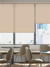Contract Capital Buttermilk Roller Blind thumbnail image