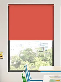 Contract Capital Candy Red Roller Blind thumbnail image