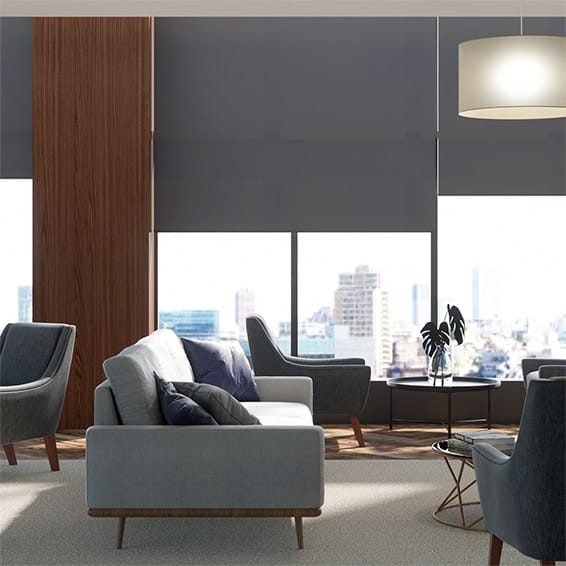 Contract Capital Deep Blue Roller Blind