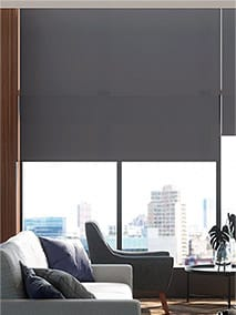 Contract Capital Deep Blue Roller Blind thumbnail image