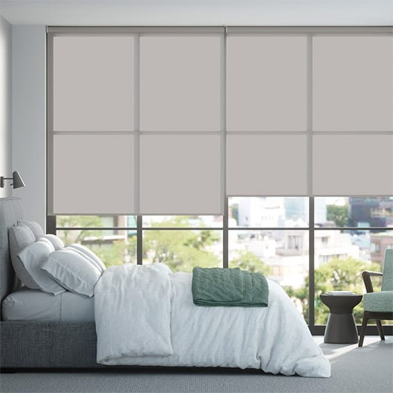 Contract Capital Pearl Grey Roller Blind