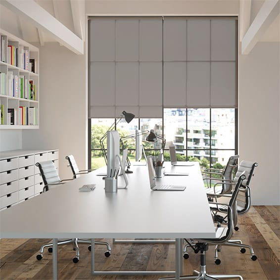 Contract Capital Warm Grey Roller Blind